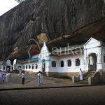 Dambulla cave temple first century BCE